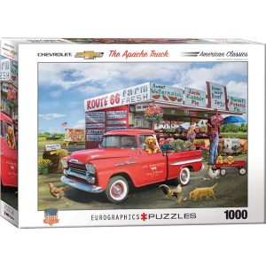 Puzzle El camión Apache