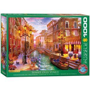Puzzle Atardecer en Venecia de Dominic Davison