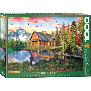 Puzzle La cabaña de pesca de Dominic Davison