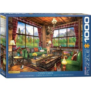 Puzzle Cabaña acogedora de Dominic Davison