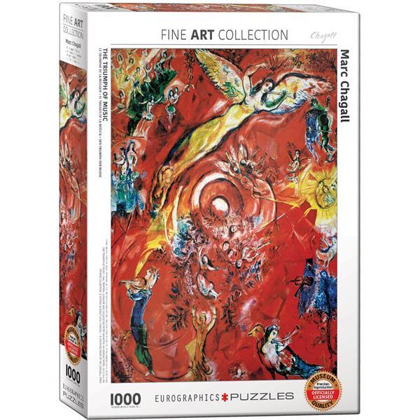 Puzzle El triumfo de la música de Chagall