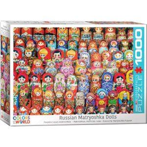 Puzzle Matrioshkas, muñecas rusas