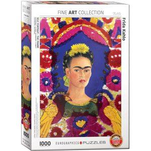 Puzzle Autoretrato - El Marco de Frida Kahlo