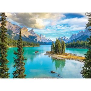 Puzzle Lago Maligne Alberta