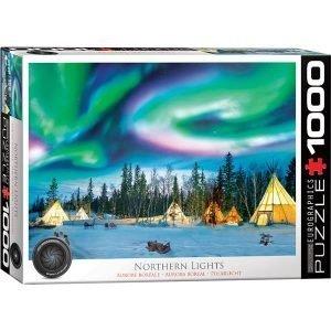 Puzzle Aurora Boreal Luces del norte - Yellowknife