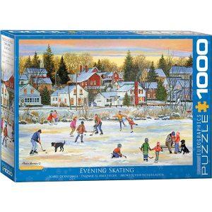 Puzzle Patinando en el hielo