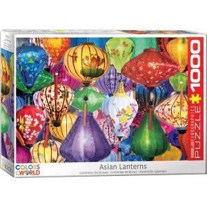 Puzzle Linternas asiáticas