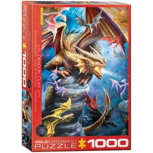 Comprar Puzzle Eurographics Dragones de Anne Stokes 1000 piezas. Puzzles Magin tienda de puzzles online con envíos 24-48 horas.