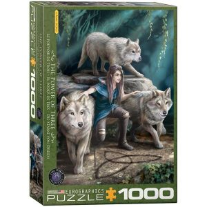 Puzzle The Power of Three de Anne Stokes