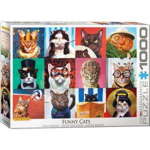 Puzzle Los gatos divertidos de Lucia Heffernan
