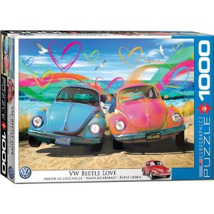 Puzzle Amor Volkswagen Escarabajo Bettle de Parker Greenfield