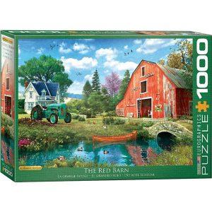 Puzzle El granero rojo de Dominic Davison