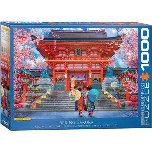 Puzzle Eurographics Primavera en Japón Sakura de 1000 piezas