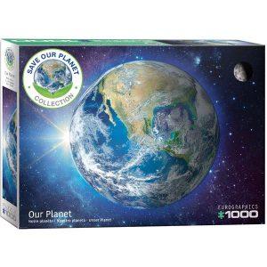 Puzzle Eurographics La Tierra Save the planet de 1000 piezas