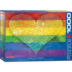 Puzzle Amor y orgullo - Love and Pride