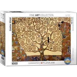 Puzzle Eurographics El arbol de la vida de Gustav Klimt de 1000 piezas
