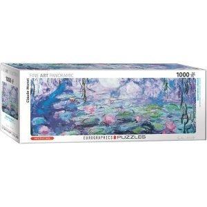 Puzzle Panorámico Nenúfares de Claude Monet