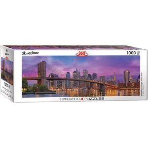 Puzzle Panorámico del Puente de Brooklyn Nueva York