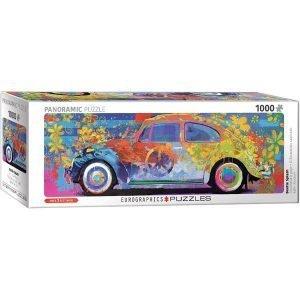 Puzzle Panorámico Volkswagen Escarabajo