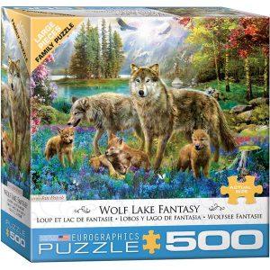 Puzzle Familia de Lobos