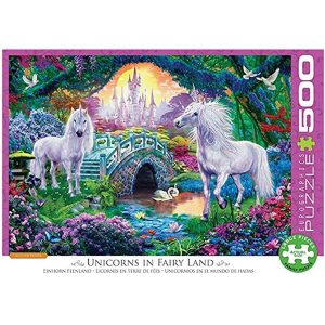 Puzzle Unicornios en el mundo de hadas