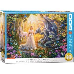 Puzzle El jardín de la princesa
