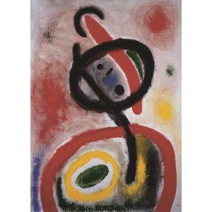 Puzzle Dona de Miró de 1500 piezas de la marca italiana Puzzle Ricordi Arte. El arte está a tu alcance con Puzles Ricordi.