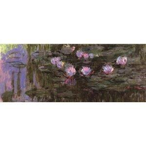 Puzzle Nenúfares de Monet (detalle) 1000 piezas de la marca italiana Puzzle Ricordi Arte. El arte está a tu alcance con Puzles Ricordi.