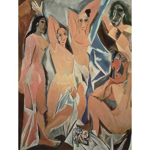 Puzzle Las Mujeres de Avignon de Picasso 1000 piezas de la marca italiana Puzzle Ricordi Arte. El arte está a tu alcance con Puzles Ricordi.