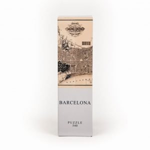Puzzle Mapa de Barcelona Architoys 540 piezas.Puzzles Magin tienda de puzzles online con envíos 24-48 horas. Encuentra tu puzzle aquí.