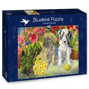 Puzzle Bluebird Cachorros de 1000 piezas