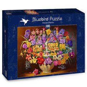 Puzzle Bluebird Plantas de interior de 1000 piezas