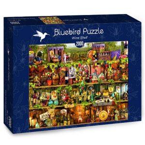 Puzzle Bluebird Estante vino
