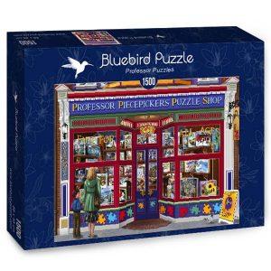 Puzzle Bluebird Tienda de Puzzles Professor de 1500 piezas