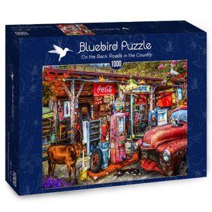 Puzzle En la parte posterior carreteras en el país - Puzzles Bluebird Puzzle