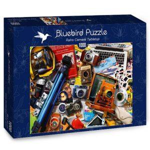 Puzzle Bluebird Camaras vintage de 1000 piezas