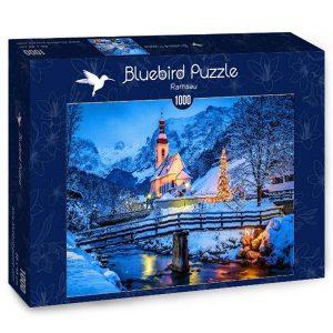 Puzzle Bluebird Paisaje Nevado