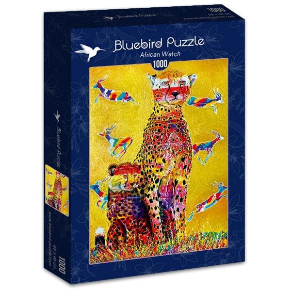 Puzzle Bluebird África de 1000 piezas