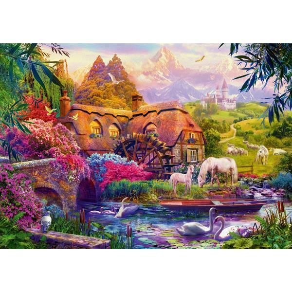 Puzzle Viejo molino - Puzzles Bluebird Puzzle