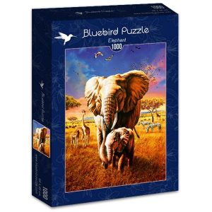 Puzzle Elefante - Puzzles Bluebird Puzzle