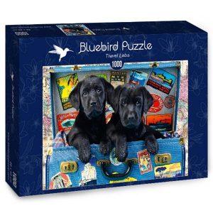 Puzzle Labrador Viajero - Puzzles Bluebird Puzzle