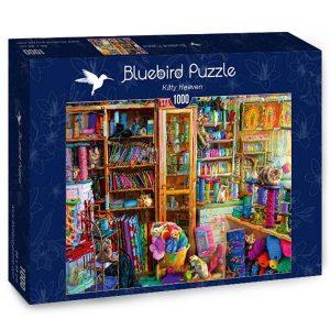 Marca Bluebird Puzzle 1000 piezas Medidas del puzzle 68x48cm Corte de piezas tradicional 100% reciclable Envío 24-48 horas Península | 3-4 días Canarias y Baleares