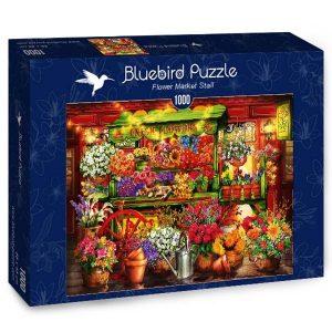 Puzzle Flor Puesto de mercado - Puzzles Bluebird Puzzle