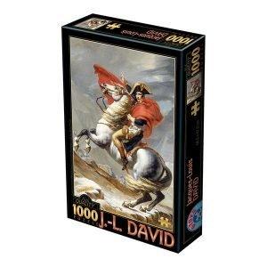 Puzzle David Jacques-Louis: Bonaparte que cruza las montañas - Puzzles DToys