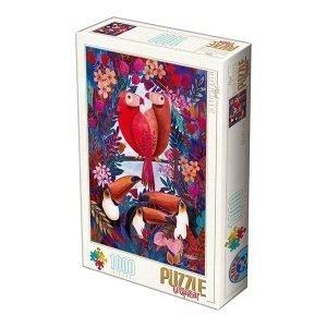 Puzzle DToys tropical Andrea Kürti de 1000 piezas