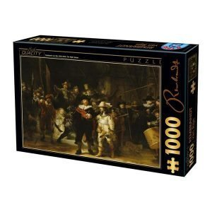 Puzzle Rembrandt - Night Watch - Puzzles DToys