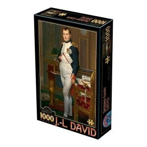 Puzzle Jacques-Louis David: Retrato de Napoleón en su gabinete de trabajo, 1812 - Puzzles DToys
