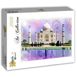 Puzzle Grafika Taj Mahal India de 2000 piezas