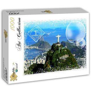 Puzzle Recorrido en todo el mundo - Brasil - Puzzles Grafika