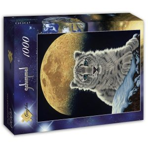 Puzzle Schim Schimmel - Luna leopardo - Puzzles Grafika